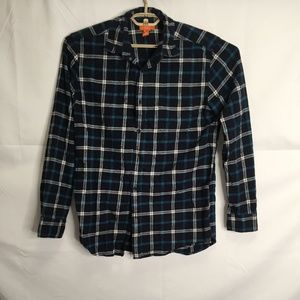 Joe's Fresh Plaid Button Down Long Sleeve Shirt